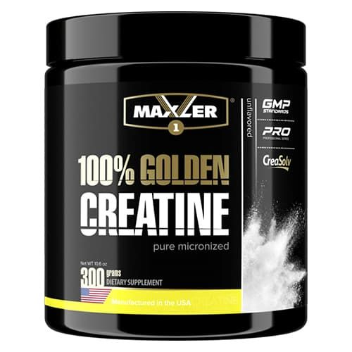 Maxler 100% Golden Micronized Creatine (Банка) 300g фото